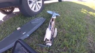 RC Model crash
