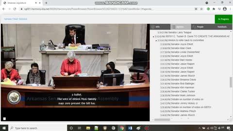 Arkansas Senate voted down SB701 a voter fraud bill