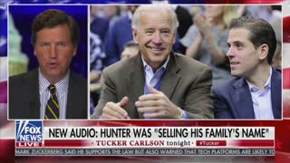 Tucker Carlson Airs NEW Bombshell Audio of Biden Business Partners –– It's Over