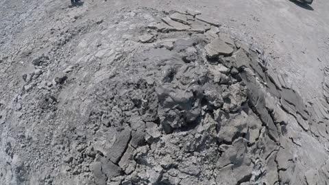 Mud volcanoes in Gobustan Azerbaijan Viral Videos