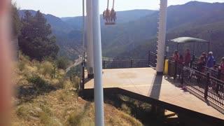 Glenwood Springs, Colorado - cliffhanger swing