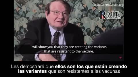 Luc Montagnier: La vacunación está creando las variantes