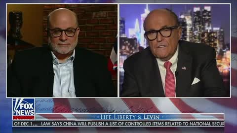 Mark Levin and Rudy Giuliani Summarize Biden/Ukraine Corruption Story