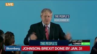 Breaking: Boris Johnson Wins Landslide Victory In UK