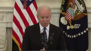 Biden MALFUNCTIONS on Live TV - Forgets Sheriff's Name