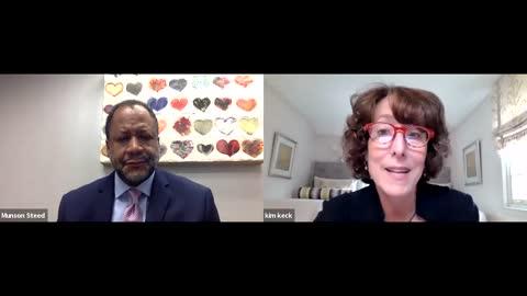 CEO of Blue Cross Blue Shield Kim Keck Interview