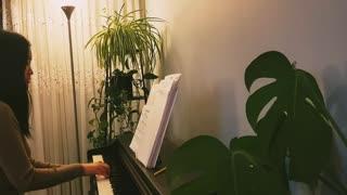 唱一首天上的歌 Singing a Heavenly Song 诗歌钢琴伴奏(Hymn Accompaniment Piano Cover) 歌词 WorshipTogether V008