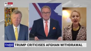 Outraged Afghan Woman Sends Message to Joe Biden -- You Destroyed Not Afghanista