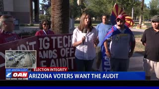 Ariz. voters want the election audit