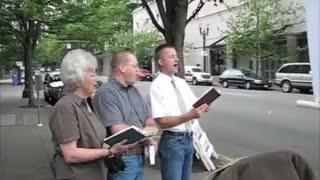 Street Preaching Portland