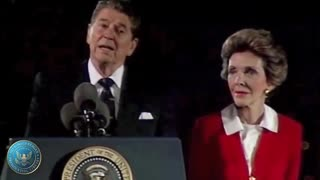 President Ronald Reagan speech