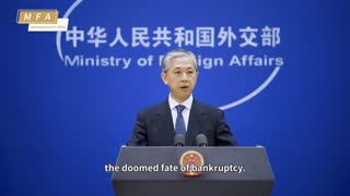 China's Foreign Minister blasts U.S Media on Xinjiang Reporting