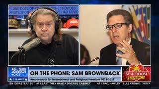 Steve Bannon interviews Ambassador Sam Brownback