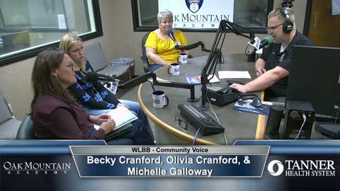 Community Voice 9/16/21 - Becky Cranford, Olivia Cranford, & Michelle Galloway