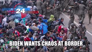 BY NOW IT'S OBVIOUS BIDEN WANTS CHAOS AT THE SOUTHERN BORDER!