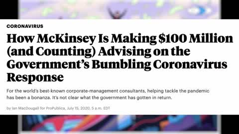 McKinsey and Covid Lockdowns: Follow the money