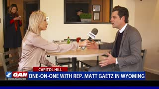 One-on-One with Rep. Matt Gaetz in Wy.