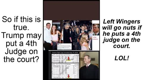 Chief Justice John Roberts is being blackmailed showing in Epstein Tapes