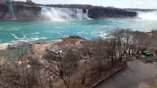 Tour of an Empty Niagara Falls during Quarantine