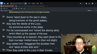 November 18 Morning Psalms and Prayer