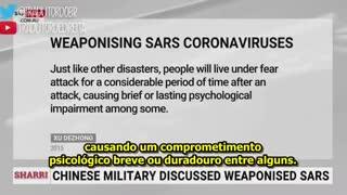 CHINA PODE TER CRIADO O COVID-19 EM LABORATORIO