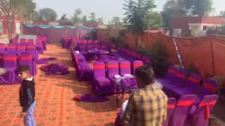 Marriage ceremony in my village