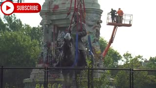 General Robert E Lee Statue removed from Virginia