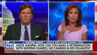 Judge Jeanine questions Epstein death, cellmate