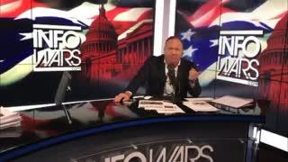 Alex Jones MELTS DOWN on Trump