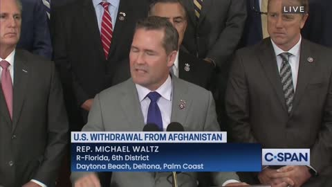 Rep. Waltz: We Do Not Let Terrorists Dictate When We Get Our People Out