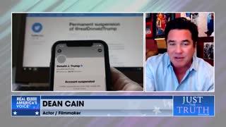 Dean Cain and Jenna Ellis discuss social media censorship
