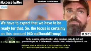 Projeto Veritas - Gravação do CEO do Twitter