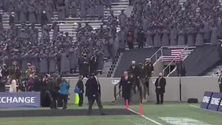 WATCH: Trump Walks Into Army/Navy Game and Crowd ERUPTS
