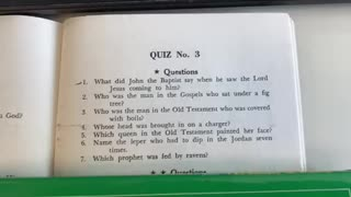 Bible Quiz 3 ⭐️