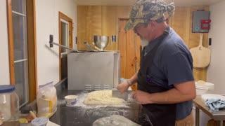 Pre-fermentation for dough