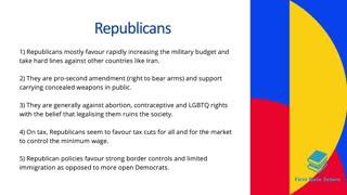 Democrats vs Republicans Explained In 5 Minutes