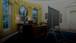 Vaccine hesitancy discussion with Joe Biden.