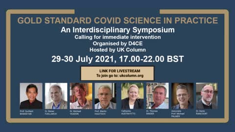 Doctors for Covid Ethics Symposium - Day 1
