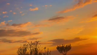 Sunset time laps