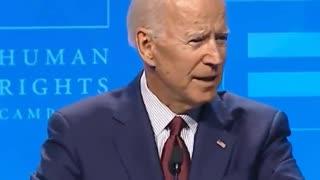 Joe Biden I'm Gay!