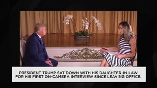 New Interview | Former President Donald Trump Talks 2024 Run with Lara Trump