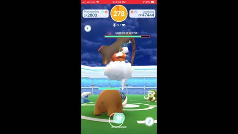 Pokemon Go - Landorus Raiding