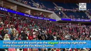Trump suggests curfew hurt Tulsa rally turnout