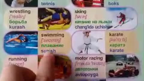 Lesson 2. Learning three languages (English, Russian and Uzbek)
