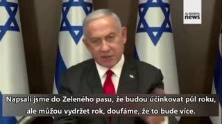 Benjamin Netanyahu v televizi přiznal pravdivost konspirace o plošném očkování dvakrát ročně!
