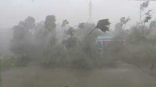 Cyclone Amphan crashes through Purba Medinipur, Nandigram with intense fury