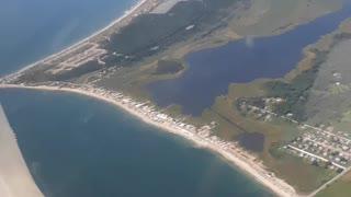 Flying Over Horseneck beach