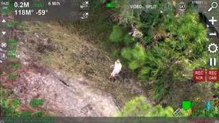 AIR1 Finds 85 Year Old Woman Lost During A Walk in Sarasota Florida