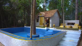 Swimming Pool for Jungle Residence Villa House
