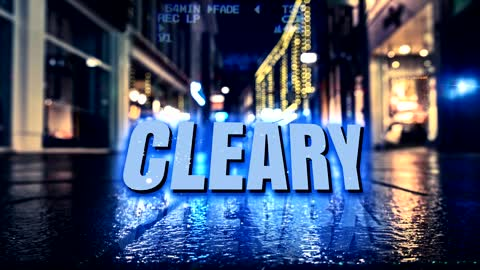 Cleary in the street